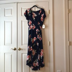 NWT Altar'd State High Low Floral Dress